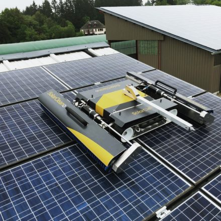 Solar Panel Cleaning by Helios? Good Call!